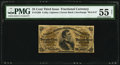 Fractional Currency:Third Issue, Fr. 1299 25¢ Third Issue PMG About Uncirculated 55 Net.. ...