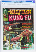 Magazines:Superhero, The Deadly Hands of Kung Fu #1 (Marvel, 1974) CGC NM 9.4 Off-white to white pages....