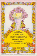 "Movie Posters:Rock and Roll, Albert King at Fillmore West (Bill Graham, 1971). Very Fine/Near Mint. Window Card (14"" X 21.25"") Willyum Rowe Artwork. Rock..."