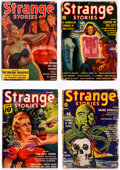 Pulps:Horror, Strange Stories Group of 9 (Better Publications, 1939-41) Condition: Average GD.... (Total: 9 Items)