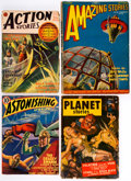 Pulps:Science Fiction, Science Fiction Pulps Box Lot (Various Publishers, 1927-55). Condition: Average VG....