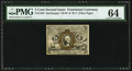 Fractional Currency:Second Issue, Fr. 1235 5¢ Second Issue PMG Choice Uncirculated 64.. ...