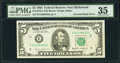 Error Notes:Inverted Reverses, Inverted Back Error Fr. 1978-E $5 1985 Federal Reserve Note. PMG Choice Very Fine 35.. ...
