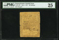 Colonial Notes:Pennsylvania, Pennsylvania July 1, 1757 20s PMG Very Fine 25.. ...