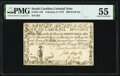 Colonial Notes:South Carolina, South Carolina February 8, 1779 $90 PMG About Uncirculated 55.. ...