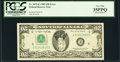 Error Notes:Inverted Reverses, Inverted Back Error Fr. 2075-E $20 1985 Federal Reserve Note. PCGS Very Fine 35PPQ.. ...