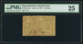 Colonial Notes:Massachusetts, Massachusetts June 18, 1776 10d PMG Very Fine 25.. ...