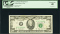 Inverted Back Error Fr. 2079-K $20 1993 Federal Reserve Note. PCGS Extremely Fine 40