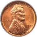 Lincoln Cents, 1909-S 1C VDB MS66 Red PCGS....