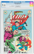 Bronze Age (1970-1979):Superhero, Action Comics #465 (DC, 1976) CGC NM+ 9.6 Off-white to white pages....