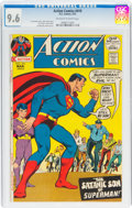 Bronze Age (1970-1979):Superhero, Action Comics #410 (DC, 1972) CGC NM+ 9.6 Off-white to white pages....