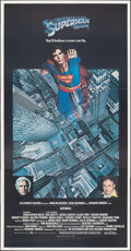 """Movie Posters:Action, Superman the Movie (Warner Bros., 1978). Folded, Very Fine+. International Three Sheet (41"""" X 79""""). Action.. ..."""