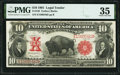 Large Size:Legal Tender Notes, Fr. 120 $10 1901 Legal Tender PMG Choice Very Fine 35.. ...