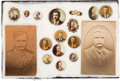 Political:Pinback Buttons (1896-present), Theodore Roosevelt: Button And Post Card Collection....