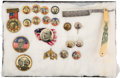 Political:Pinback Buttons (1896-present), William McKinley: Button And Razor Collection....