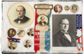 Political:Pinback Buttons (1896-present), William Jennings Bryan: Campaign Buttons And More....