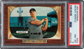 Baseball Cards:Singles (1950-1959), 1955 Bowman Mickey Mantle #202 PSA NM-MT 8. ...
