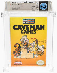 Caveman Games - Wata 9.2 A+ Sealed, NES Data East 1990 USA