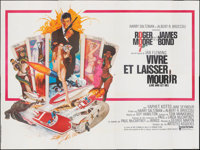 """Live and Let Die (United Artists, 1973). Folded, Very Fine-. French Eight Panel (156.5"""" X 117.75"""") Robert McGi..."""