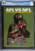 Football Collectibles:Programs, 1968 Super Bowl II Program, CGC 8.5 - Pop 1 with None Higher....