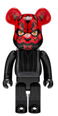Collectible, BE@RBRICK X Lucas Films. Darth Maul 1000%, 2015. Painted cast resin. 28 x 14 x 9 inches (71.1 x 35.6 x 22.9 cm). No. 568...