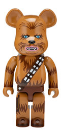 Collectible, BE@RBRICK X Lucas Films. Chewbacca 1000%, 2016. Painted cast resin. 28 x 14 x 9 inches (71.1 x 35.6 x 22.9 cm). No. 332...