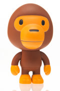 Collectible, BAPE. Baby Milo (Brown), early 21st century. Painted cast vinyl. 4 x 2-1/2 x 2-1/2 inches (10.2 x 6.4 x 6.4 cm). Stamped...