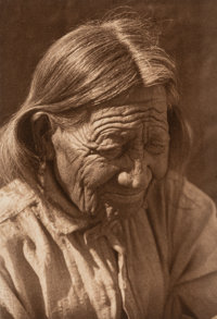 Edward Sheriff Curtis (American, 1868-1952) A Group of Six Native American Photogravures (6 works), 190