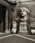 Photographs, Jean Kallina (American, 20th Century). Rome, Constantine Ruins, 1989. Oversized gelatin silver. 49-1/2 x 39-1/2 inches (...