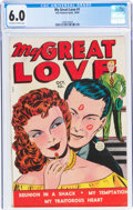 Golden Age (1938-1955):Romance, My Great Love #1 (Fox Features Syndicate, 1949) CGC FN 6.0 Off-white to white pages....