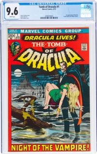 Tomb of Dracula #1 (Marvel, 1972) CGC NM+ 9.6 White pages