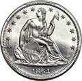 Patterns, 1864 50C Half Dollar, Judd-395, Pollock-463, R.8, PR65 Cameo PCGS....