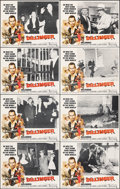 """Movie Posters:Crime, Dillinger & Other Lot (American International, 1973). Very Fine-. Lobby Card Sets of 8 (2) (11"""" X 14"""") George Akimoto Border... (Total: 16 Items)"""