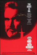 """Movie Posters:Thriller, The Hunt for Red October (Paramount, 1990). Rolled, Very Fine-. Autographed One Sheet (27"""" X 40"""") SS. Thriller.. ..."""