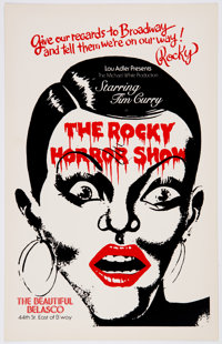 The Rocky Horror Show Broadway Poster (Michael White, c. 1975)