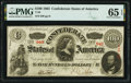 Confederate Notes:1863 Issues, T56 $100 1863 PF-1 Cr. 403 PMG Gem Uncirculated 65 EPQ.. ...