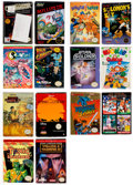 Video Games:Nintendo, NES CIB Group of 14 - Condition: Average: FN-, NES (Various, c. 1986 - 1992) USA and GER.... (Total: 14 Items)
