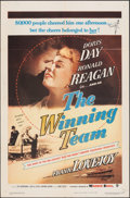 """Movie Posters:Sports, The Winning Team (Warner Bros., 1952). Folded, Very Fine-. One Sheet (27"""" X 41"""") & Photos (7) (8"""" X 10""""). Sports.. ... (Total: 8 Items)"""