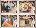 """Movie Posters:Science Fiction, Invaders from Mars (20th Century Fox, 1953). Fine/Very Fine. Lobby Cards (4) (11"""" X 14""""). Science Fiction.. ... (Total: 4 Items)"""