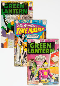 Showcase and Green Lantern Group of 4 (DC, 1959-61).... (Total: 4 Comic Books)