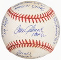 Autographs:Baseballs, Tom Seaver Signed & Inscribed Baseball....