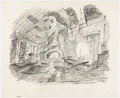 Animation Art:Concept Art, The Prince and the Pauper Mickey Mouse and Goofy Concept Art (Walt Disney, 1990)....