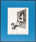 """Movie Posters:Musical, Anchors Aweigh (MGM, R-1955). Very Fine+. Matted Autographed Photo (13.5"""" X 15.75""""). Musical.. ..."""