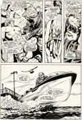 Original Comic Art, Gene Colan and Syd Shores Daredevil #60 Story Page 4 Original Art (Marvel, 1970)....