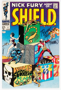 Nick Fury, Agent of S.H.I.E.L.D. #1 (Marvel, 1968) Condition: FN