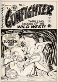 Original Comic Art:Covers, Johnny Craig Gunfighter #14 Cover Original Art (EC Publ., 1950)....
