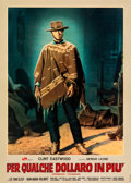 Movie Posters:Western, For a Few Dollars More (PEA, 1965). Fine/Very Fine on Line...