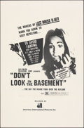 "Movie Posters:Horror, Don't Look in the Basement (American International, 1973). Folded, Very Fine. One Sheet (27"" X 41""). Horror.. ..."