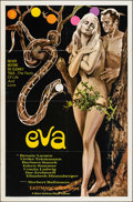 "Movie Posters:Foreign, Eva (MGM, 1969). Folded, Very Fine. One Sheet (27"" X 41""). Foreign.. ..."