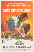 "Movie Posters:Academy Award Winners, Gone with the Wind (MGM, R-1968). Folded, Very Fine+. One Sheet (27"" X 41"") Howard Terpning Artwork. Academy Award Winners...."